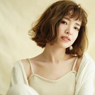 ミニボブ 透明感カラー ウルフカット ボブ ヘアスタイルや髪型の写真・画像