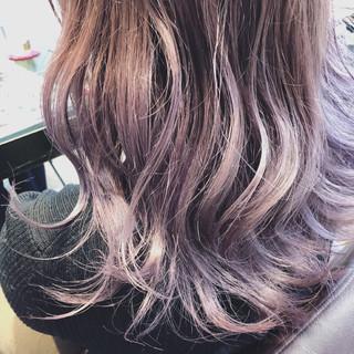 外国人風カラー ネイビーアッシュ 上品 イルミナカラー ヘアスタイルや髪型の写真・画像 ヘアスタイルや髪型の写真・画像