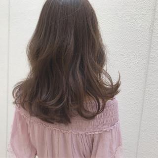愛され 大人かわいい アンニュイ セミロング ヘアスタイルや髪型の写真・画像