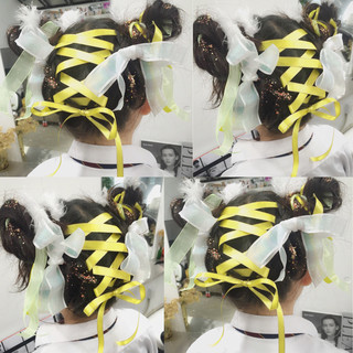 ショート フェミニン ミディアム ハイライト ヘアスタイルや髪型の写真・画像