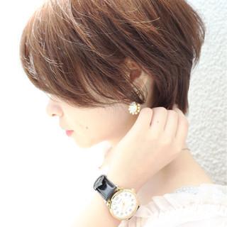 アウトドア ショート ヘアアレンジ オシャレ ヘアスタイルや髪型の写真・画像 ヘアスタイルや髪型の写真・画像