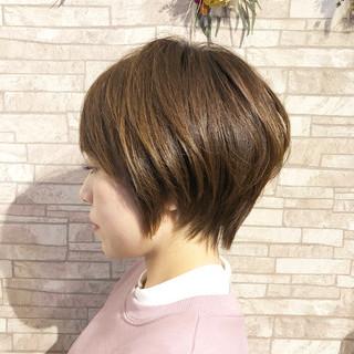 ショートボブ ショート 大人ショート ガーリー ヘアスタイルや髪型の写真・画像