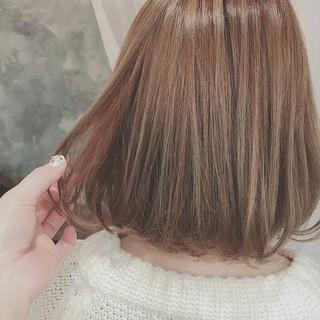 春 外国人風 ナチュラル グラデーションカラー ヘアスタイルや髪型の写真・画像