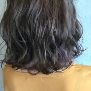 秋 アッシュベージュ ヘアアレンジ ストリート ヘアスタイルや髪型の写真・画像