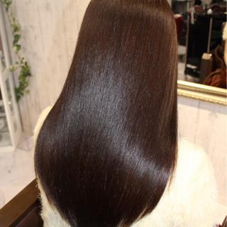 ストレート ナチュラル 艶髪 トリートメント ヘアスタイルや髪型の写真・画像 ヘアスタイルや髪型の写真・画像