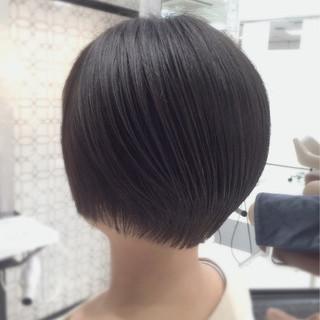 ウルフカット ミルクティー マッシュ ナチュラル ヘアスタイルや髪型の写真・画像