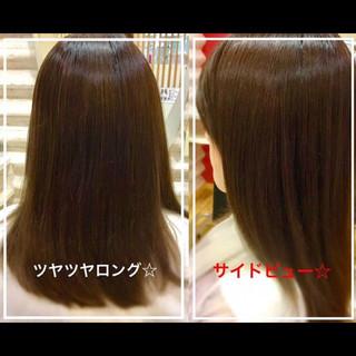 艶髪 社会人の味方 ナチュラル 時短 ヘアスタイルや髪型の写真・画像