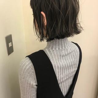 デート ハイライト ゆるふわ アンニュイ ヘアスタイルや髪型の写真・画像
