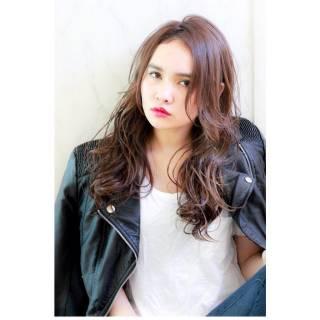 ウェットヘア パンク ストリート ミディアム ヘアスタイルや髪型の写真・画像
