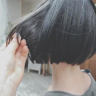 色気 ショート モード ゆるふわ ヘアスタイルや髪型の写真・画像