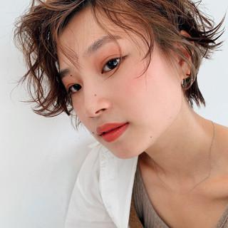 PEEK-A-BOO ナチュラル 阿藤俊也 ハンサムショート ヘアスタイルや髪型の写真・画像