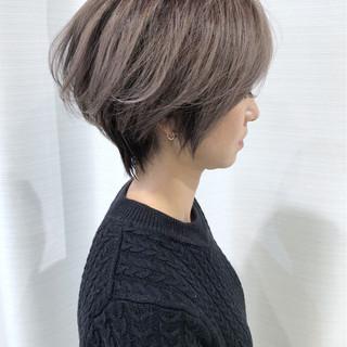 ショート アッシュ 外国人風カラー モード ヘアスタイルや髪型の写真・画像