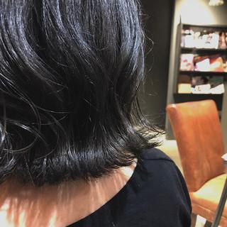 大人ミディアム ミディアム 透明感カラー グレージュ ヘアスタイルや髪型の写真・画像