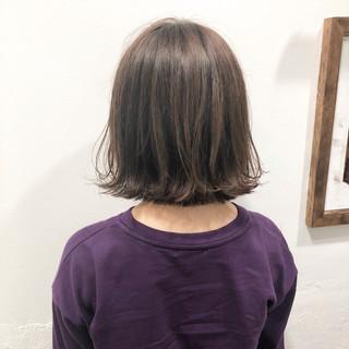 ナチュラル ボブ ヘアアレンジ デート ヘアスタイルや髪型の写真・画像