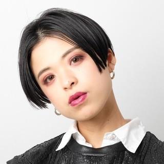PEEK-A-BOO モード ハンサムショート 大人ヘアスタイル ヘアスタイルや髪型の写真・画像 ヘアスタイルや髪型の写真・画像