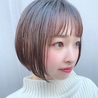 大人可愛い デート フェミニン 透明感カラー ヘアスタイルや髪型の写真・画像
