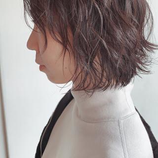 ボブ 伸ばしかけ 圧倒的透明感 大人ヘアスタイル ヘアスタイルや髪型の写真・画像