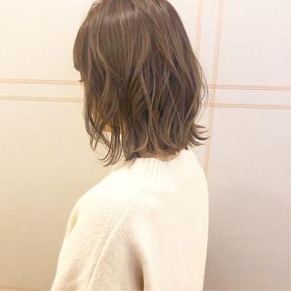 ボブ アンニュイほつれヘア ヘアアレンジ パーマ ヘアスタイルや髪型の写真・画像