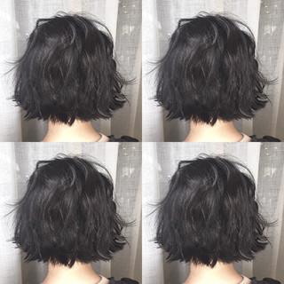 外国人風 ボブ アッシュ スポーツ ヘアスタイルや髪型の写真・画像