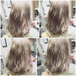 ガーリー フェミニン 外国人風 ゆるふわ ヘアスタイルや髪型の写真・画像