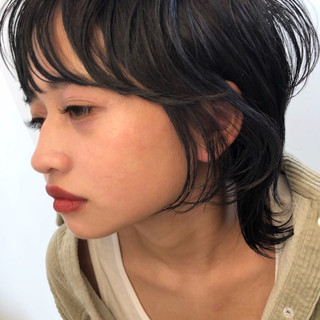簡単スタイリング ショートヘア ナチュラル ショート ヘアスタイルや髪型の写真・画像