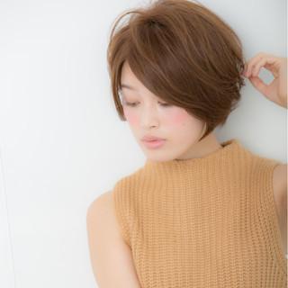 こなれ感 ニュアンス ショート 上品 ヘアスタイルや髪型の写真・画像