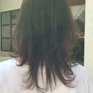 ゆるふわ 前髪あり デート ミディアム ヘアスタイルや髪型の写真・画像