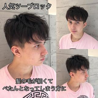 マッシュヘア ツーブロック マッシュ ナチュラル ヘアスタイルや髪型の写真・画像