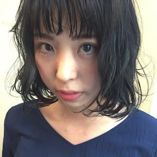 オン眉×黒髪の垢抜けヘア!大人かわいいスタイルをご紹介♡