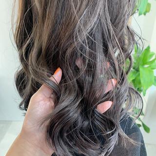 アディクシーカラー 透明感カラー イルミナカラー ナチュラル ヘアスタイルや髪型の写真・画像