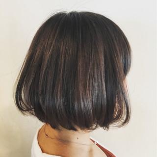ハイライト ボブ フェミニン ゆるふわ ヘアスタイルや髪型の写真・画像