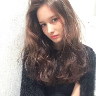 ストリート 暗髪 グラデーションカラー 外国人風 ヘアスタイルや髪型の写真・画像