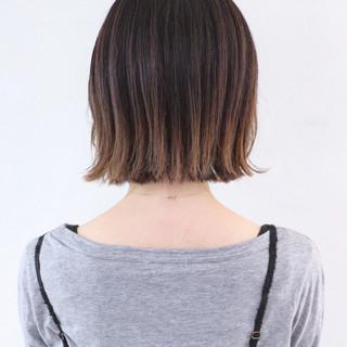 デート ナチュラル グラデーションカラー アッシュ ヘアスタイルや髪型の写真・画像