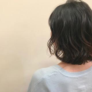 抜け感 透明感 ラフ ボブ ヘアスタイルや髪型の写真・画像