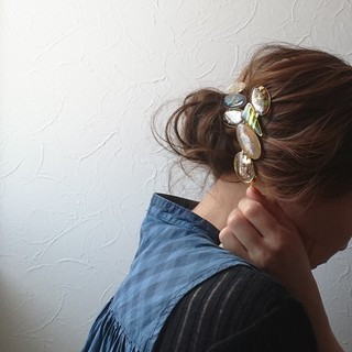 大人かわいい ショート ナチュラル 花火大会 ヘアスタイルや髪型の写真・画像