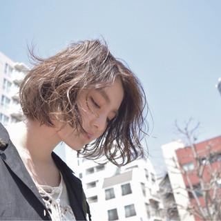 ハイライト パーマ インナーカラー ストリート ヘアスタイルや髪型の写真・画像
