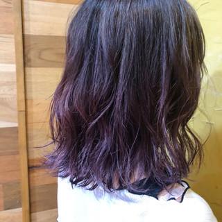 ダブルカラー 外国人風カラー インナーカラー モード ヘアスタイルや髪型の写真・画像