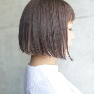 前髪あり ナチュラル 外国人風カラー アッシュ ヘアスタイルや髪型の写真・画像