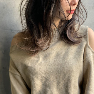 アンニュイほつれヘア ゆるナチュラル アッシュグレージュ 大人かわいい ヘアスタイルや髪型の写真・画像