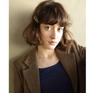 暗髪 ストリート モード ウェーブ ヘアスタイルや髪型の写真・画像 ヘアスタイルや髪型の写真・画像