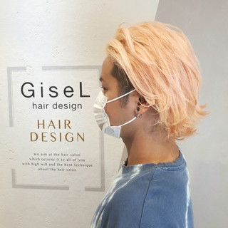 GiseL 六本松さんのヘアスナップ