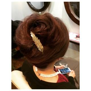 ブライダル モテ髪 結婚式 ヘアアレンジ ヘアスタイルや髪型の写真・画像 ヘアスタイルや髪型の写真・画像