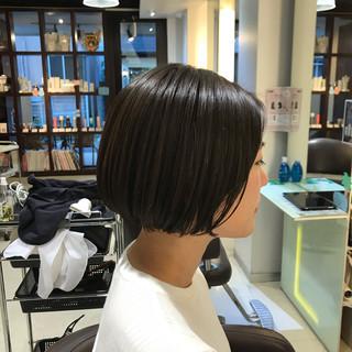 黒髪 簡単ヘアアレンジ ナチュラル N.オイル ヘアスタイルや髪型の写真・画像