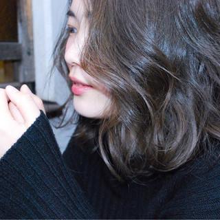 ブルージュ ボブ アッシュ 透明感 ヘアスタイルや髪型の写真・画像 ヘアスタイルや髪型の写真・画像