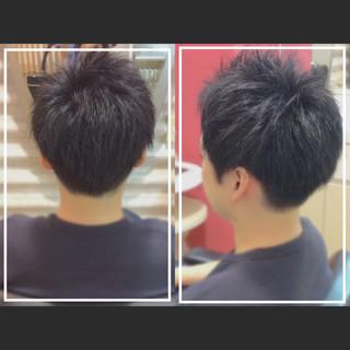 白髪染め ショートヘア 社会人の味方 大人ヘアスタイル ヘアスタイルや髪型の写真・画像
