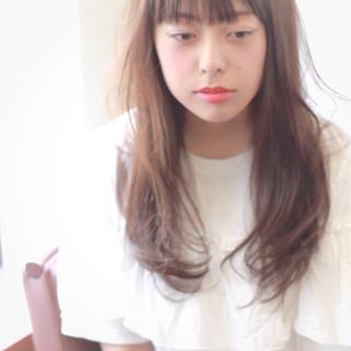 フェミニン おフェロ 前髪あり ゆるふわ ヘアスタイルや髪型の写真・画像