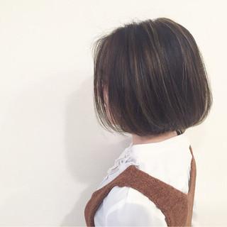 大人かわいい ブラウン グラデーションカラー ストリート ヘアスタイルや髪型の写真・画像
