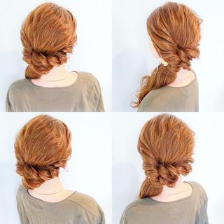ヘアアレンジ アウトドア デート リラックス ヘアスタイルや髪型の写真・画像