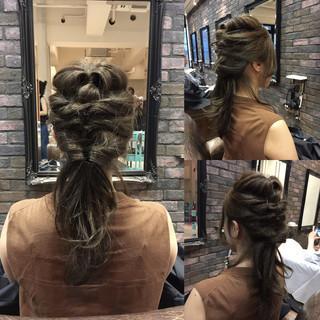 ショート 外国人風 ヘアアレンジ ハーフアップ ヘアスタイルや髪型の写真・画像 ヘアスタイルや髪型の写真・画像