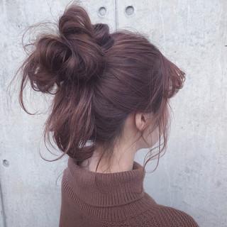 アンニュイほつれヘア セミロング 簡単ヘアアレンジ 表参道 ヘアスタイルや髪型の写真・画像 ヘアスタイルや髪型の写真・画像